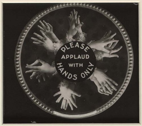 applause with hands